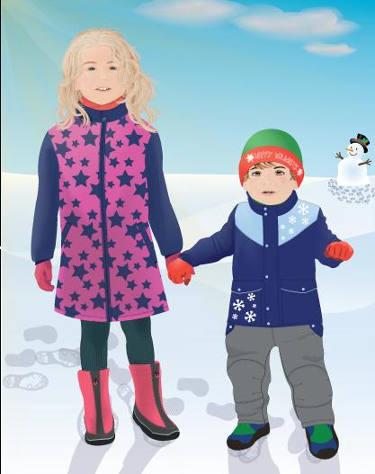 UNICEF Winter Theme